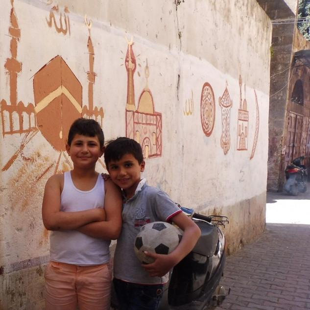 Vrienden in Tripoli.JPG