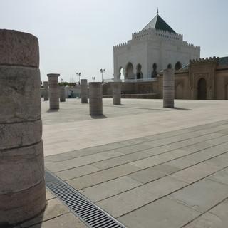 Mausoleum van Mohammed V Marokko.JPG