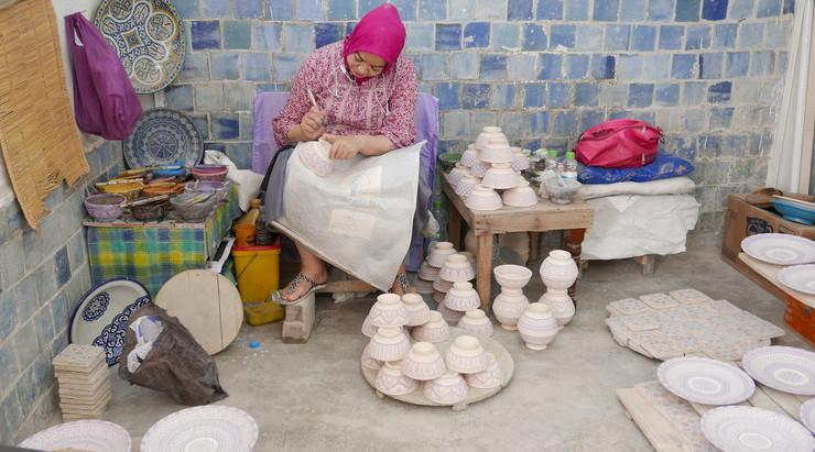 Bij de pottenbakkers