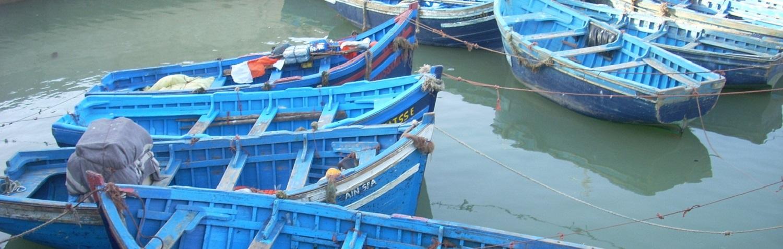 Haventje Essaouira Marokko