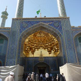 Rondreis Iran Saffraan Reizen Qom moskee, Iran.JPG