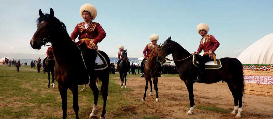 De Ahal Teke paarden van Turkmenistan