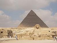 Chefren en de sfinx, Cairo, Egypte - Saffraan Reizen