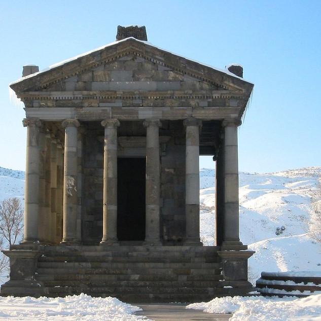 Garni Romeinse tempel rondreis Armenie Saffraan Reizen