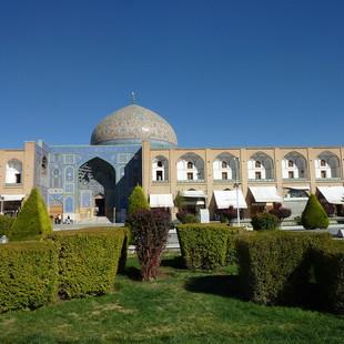 Rondreis Iran Saffraan Reizen Lotfollamoskee Isfahan, Iran.JPG