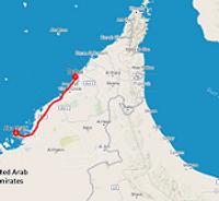 Route citytrip Dubai & Abu Dhabi - Saffraan Reizen