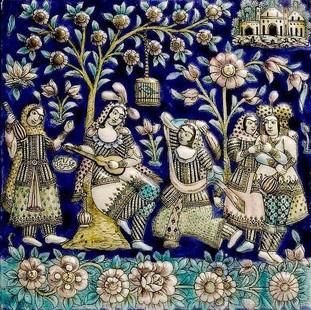 Rondreis Iran Saffraan Reizen Tegeltableau, Iran.jpg