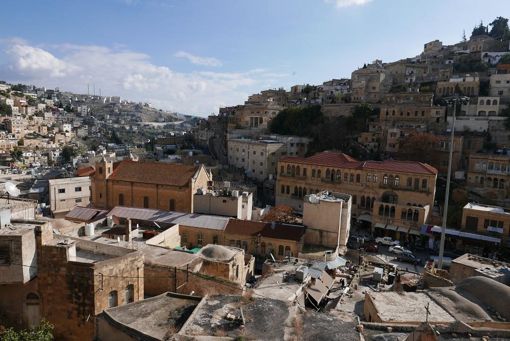 Uitzicht over de stad Salt, Jordanië - Saffraan Reizen