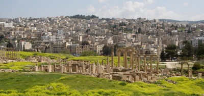 De Cardo in Jerash, Jordanië - Saffraan Reizen