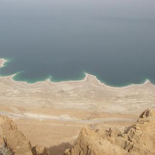 Mooi uitzicht over de Dode Zee.JPG