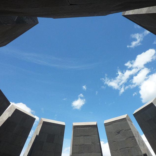 Memorial voor de genocide in Yerevan.JPG