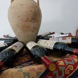 Wijn proeven in Areni rondreis Armenie .JPG