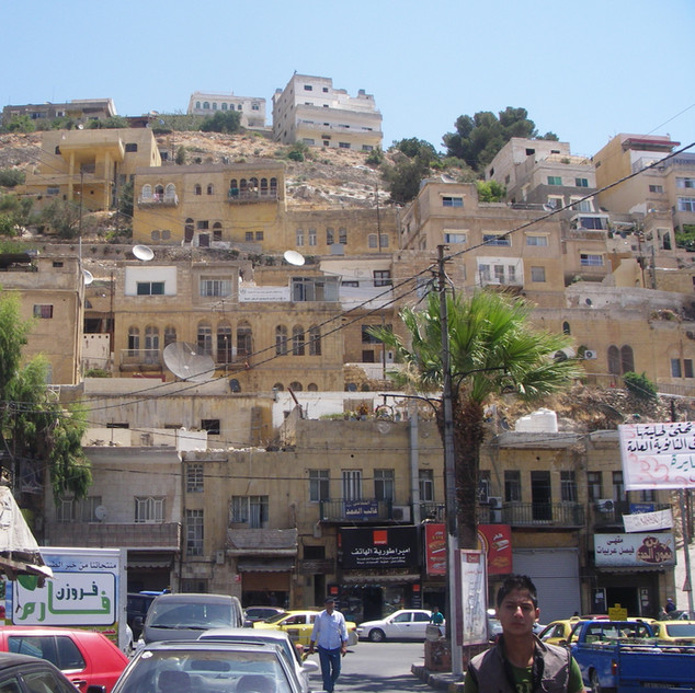 Salt, de voormalige hoofdstad vanJordanië