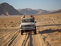 Woestijnrit in Wadi Rum, Jordanië - Saffraan Reizen
