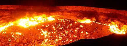 Darwaza gaskrater - Saffraan Reizen