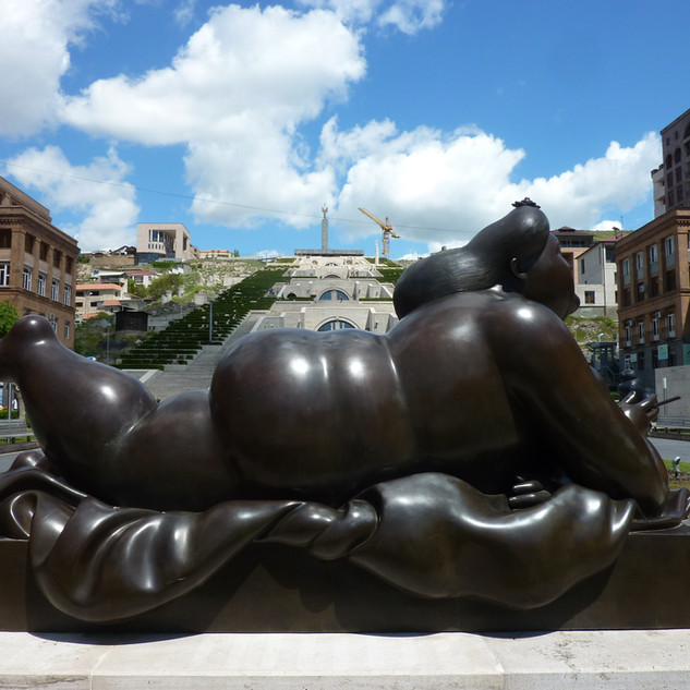 Botero in Yerevan Cafesijan rondreis Armenie Saffraan Reizen.JPG