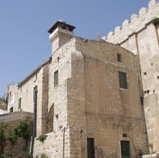 Ibrahimi moskee, Graf van de Aartsvaders, Hebron, Palestina.JPG