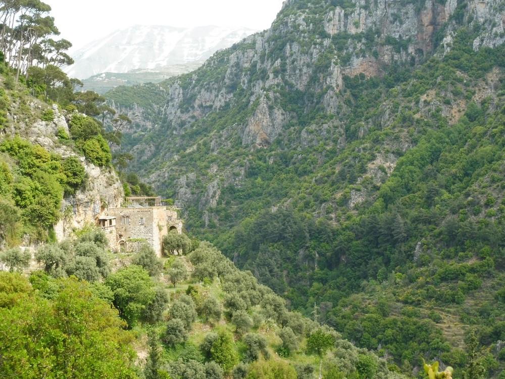 Klooster Qannoubine, Wadi Qadisha, Libanon - Saffraan Reizen