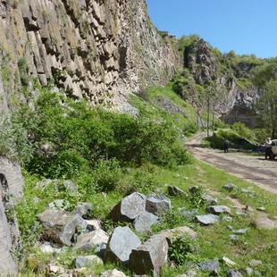 Wandelen kloof  Garnitempel rondreis Armenie Saffraan Reizen.JPG