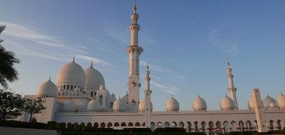 Abu Dhabi, Sheikh Zayed moskee - Saffraan Reizen