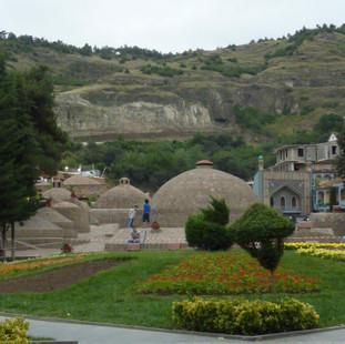 Hammam oud Perzisch erfgoed in Tbilisi.J