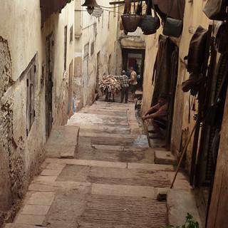Marokko, in de souq.JPG