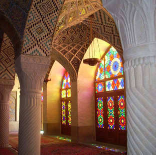 Rondreis Iran Saffraan Reizen Nasr al Molk moskee Shiraz, Iran.JPG