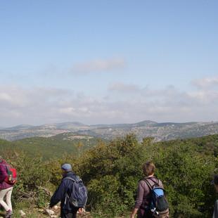 Wandelen in het Ajlun Forest Reserve.JPG