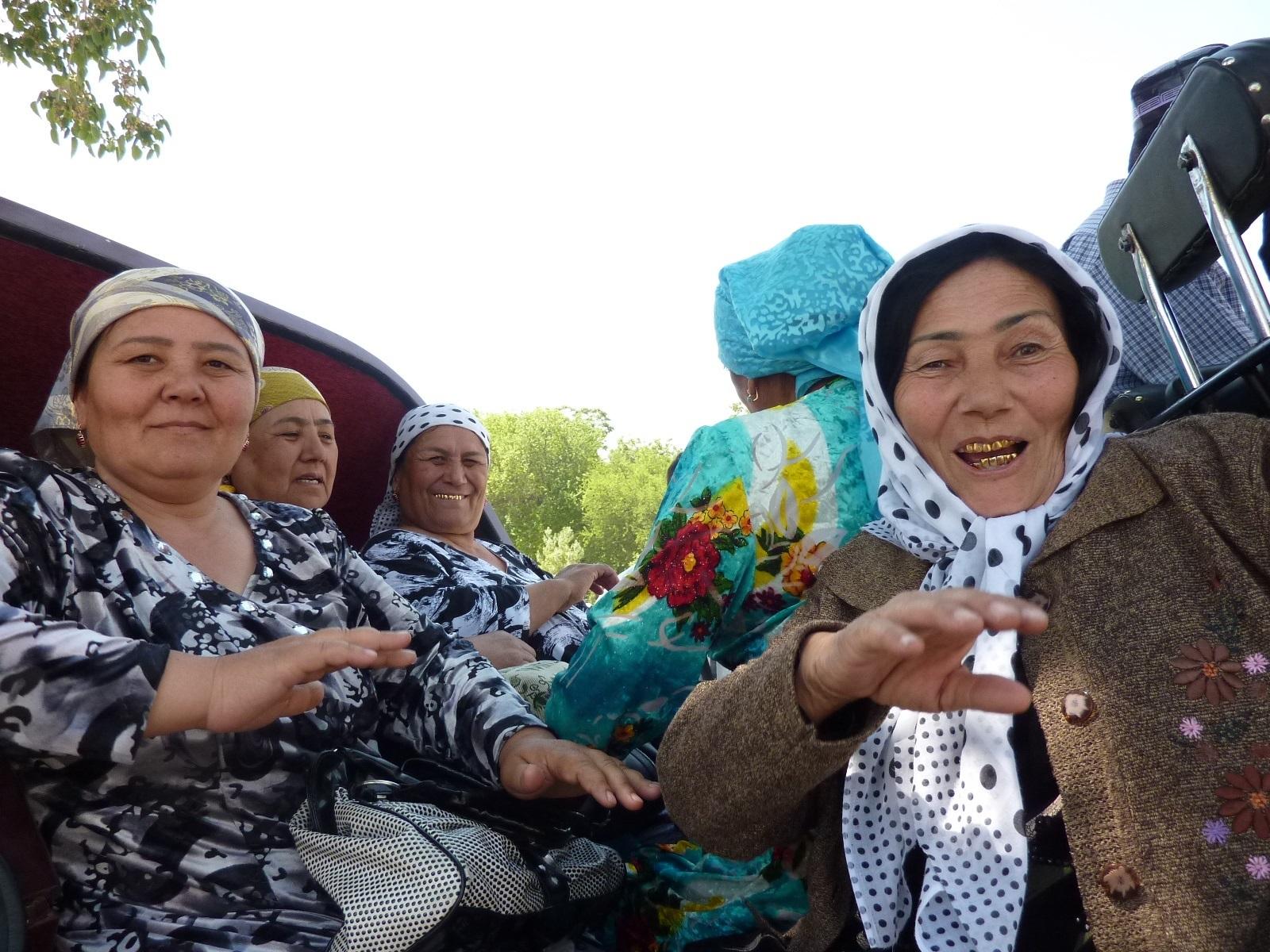 Een ontmoeting in Oezbekistan
