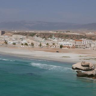 Uitzicht op Taqah, Oman.JPG