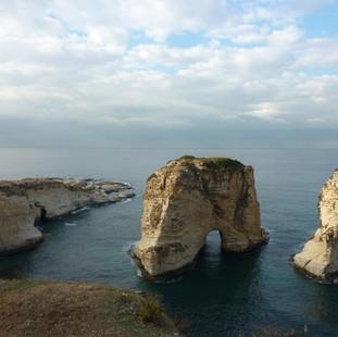 Pigeon Rock,  Beirut.JPG