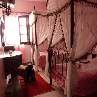 'n Hotelkamer in Rabat.JPG