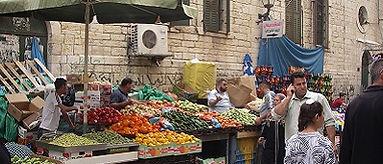 Markt in Bethlehem, West Bank - Saffraan Reizen