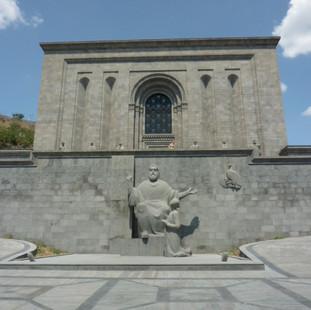 Matenadaran museum rondreis Armenie Saffraan Reizen.JPG