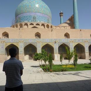 Moskee in Isfahan, Rondreis  Iran Saffraan Reizen .JPG