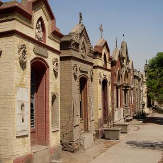 Koptische begraafplaats, Cairo.JPG