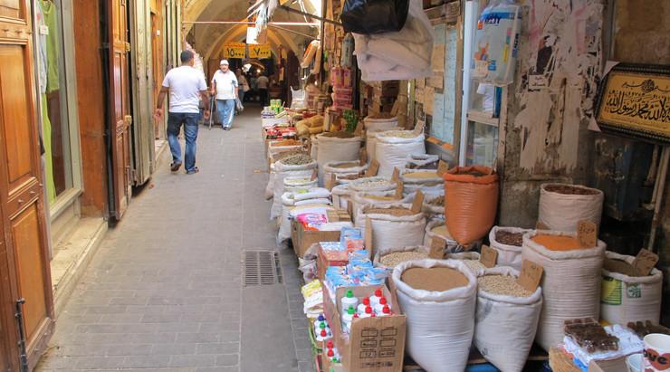 In de souq van Sidon