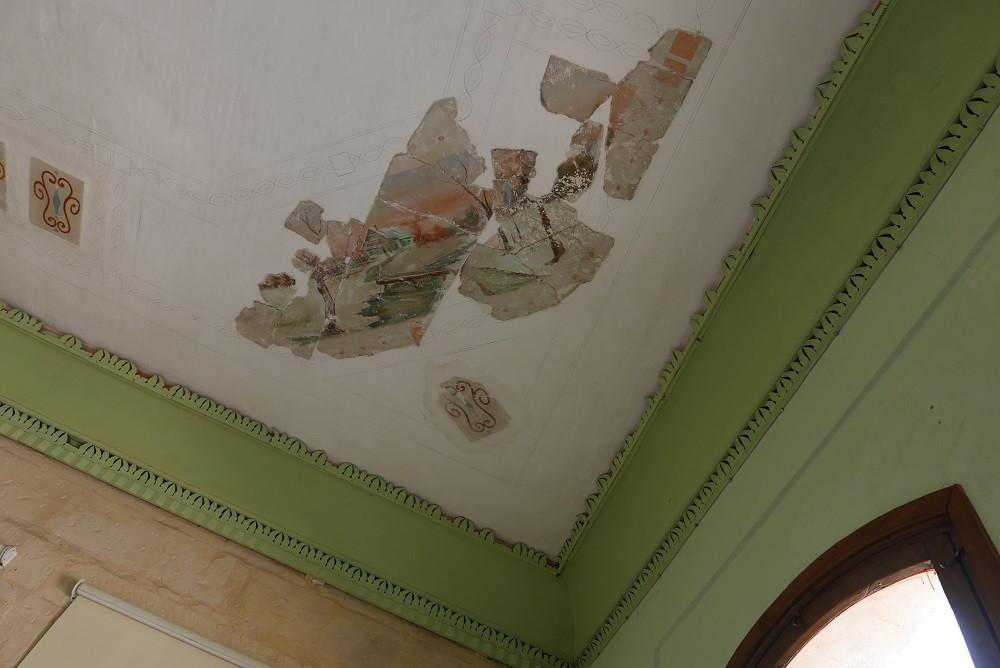 Fresco's in het Abu Jaber House in Salt, Jordanië - Saffraan Reizen