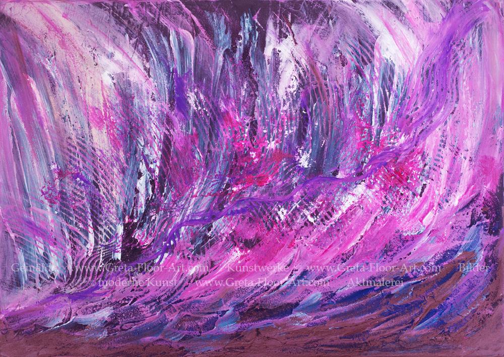 www.greta-floor-art.com Waves lila