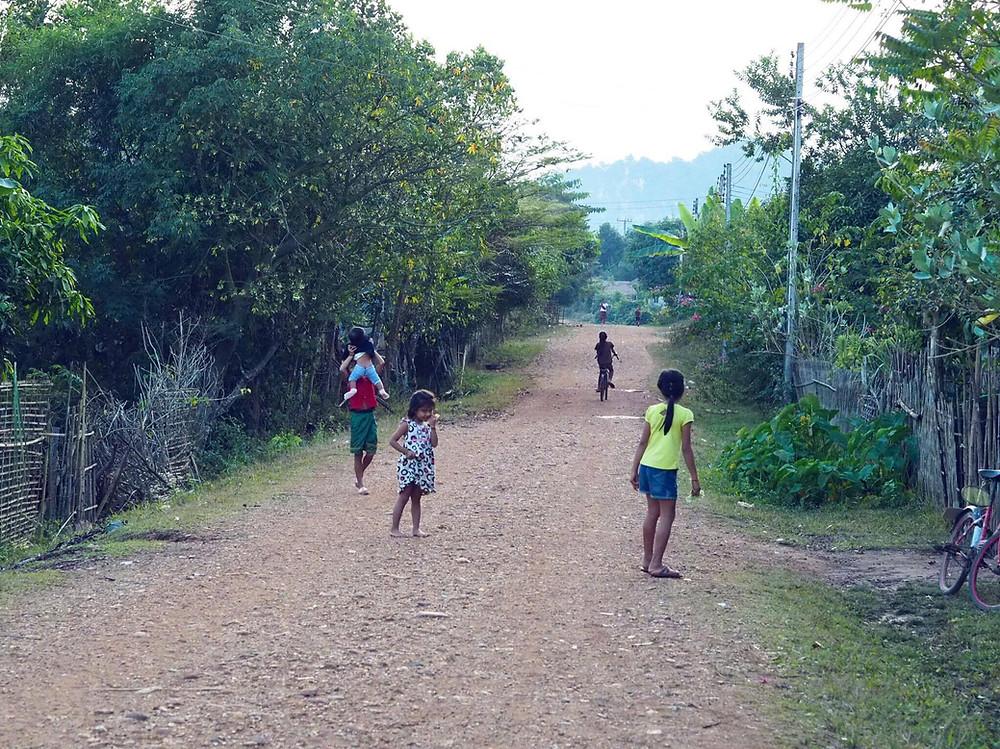 Children in Laos