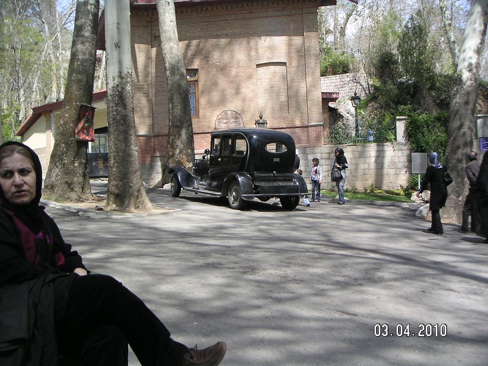 Old Car in Sadeybadah Palace