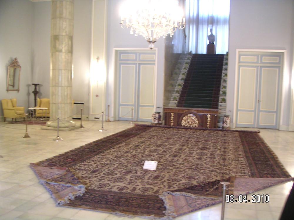 Inside Sabaydabad Palace
