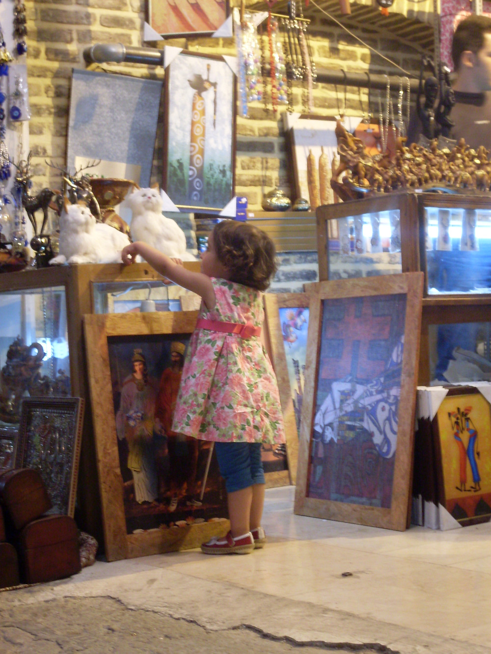 Little girl in Shiraz