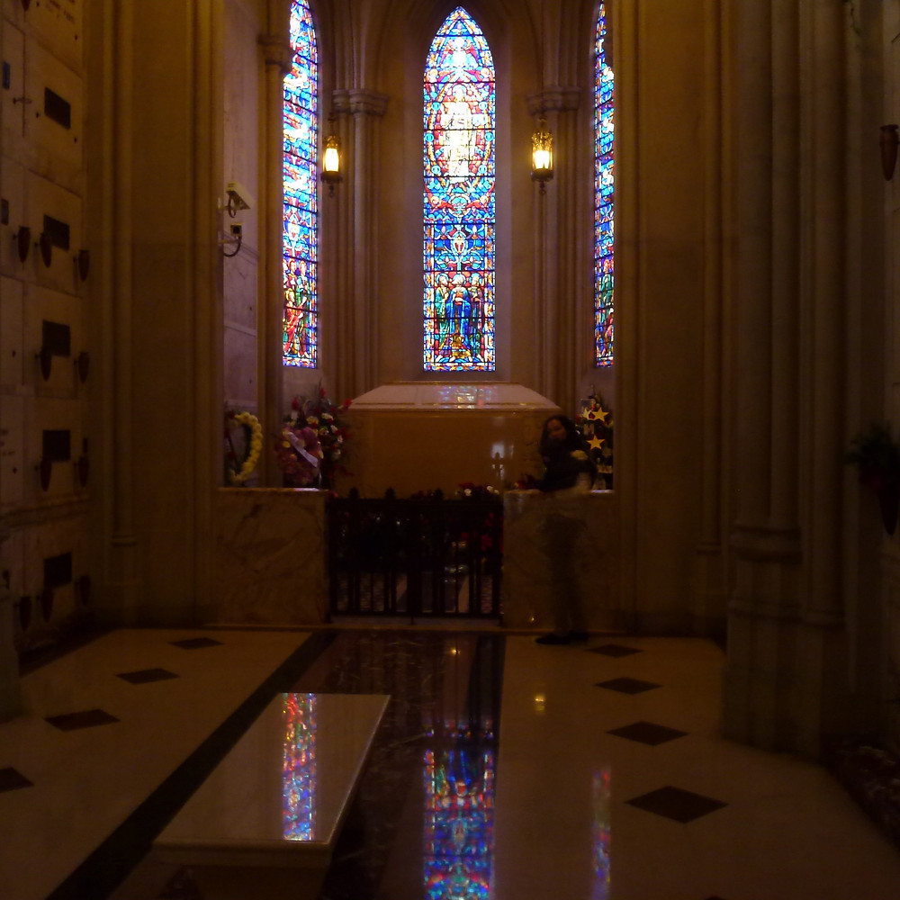 Michael Jackson's Tomb inside the Holly Terrace