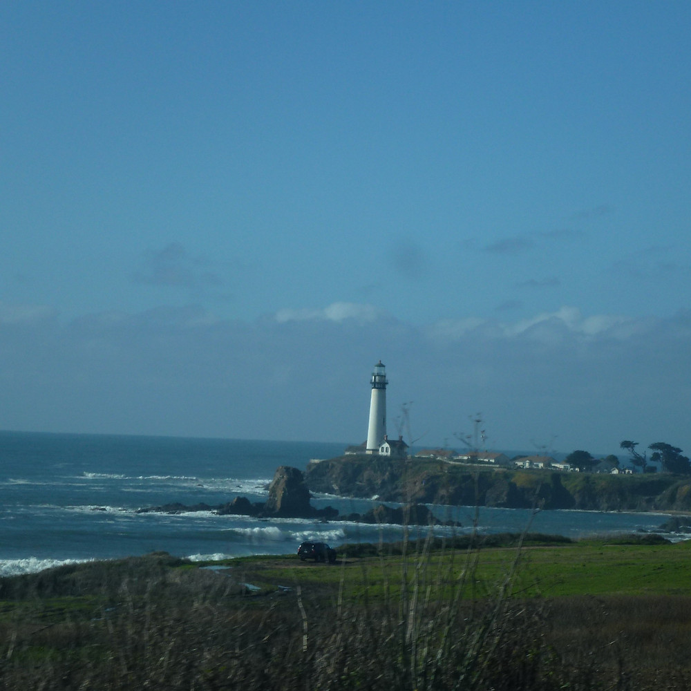 Lighthouse on Pacific Coast Highway