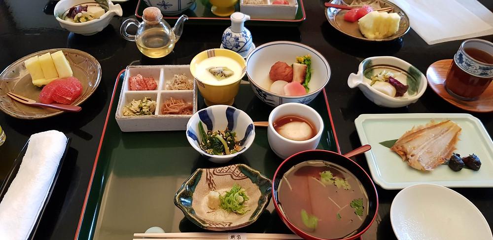 Japanese Breakfast, Kyoto, Japan