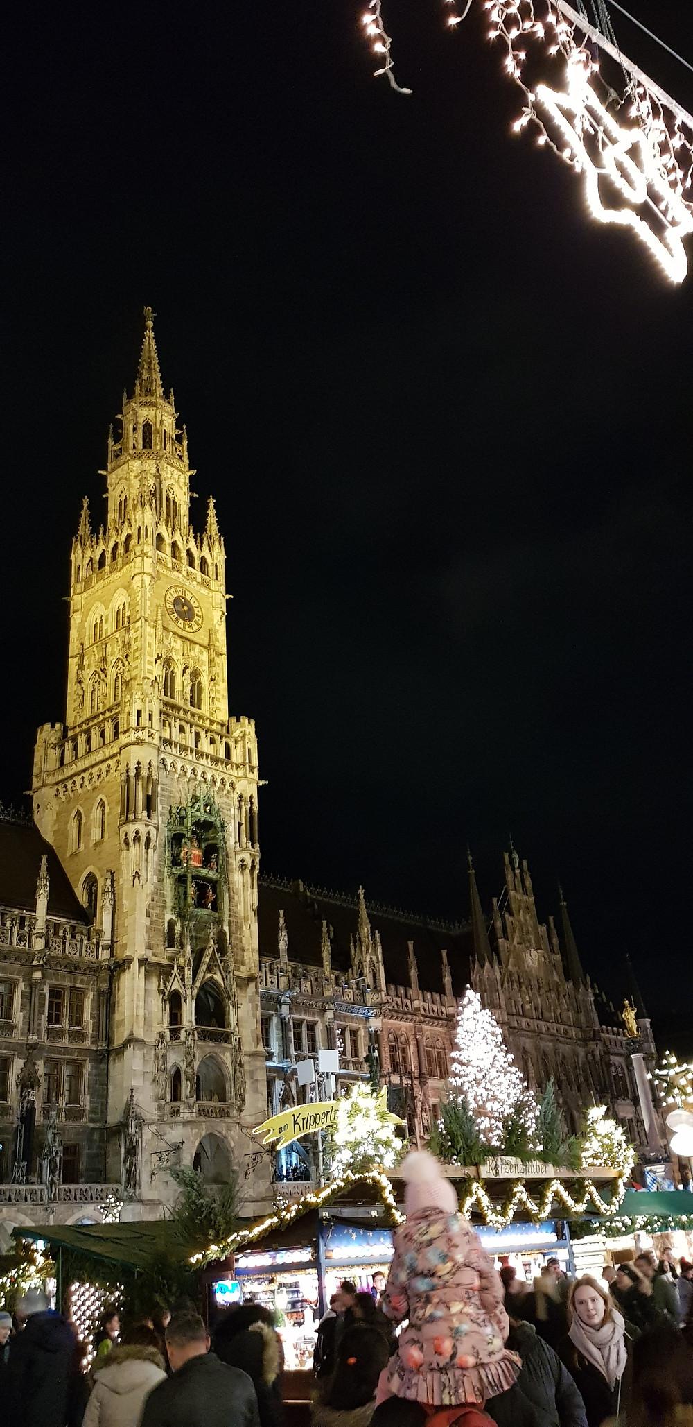 Marienplatz Christmas Market, Munich, Germany