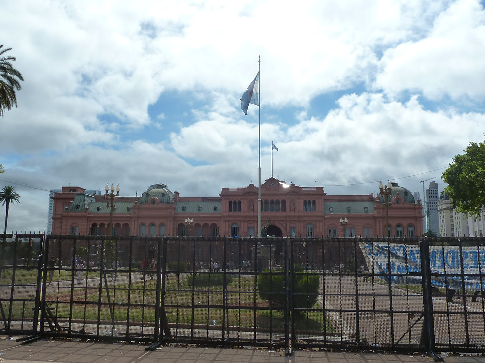 The Presidential Palace of Buenos Aires