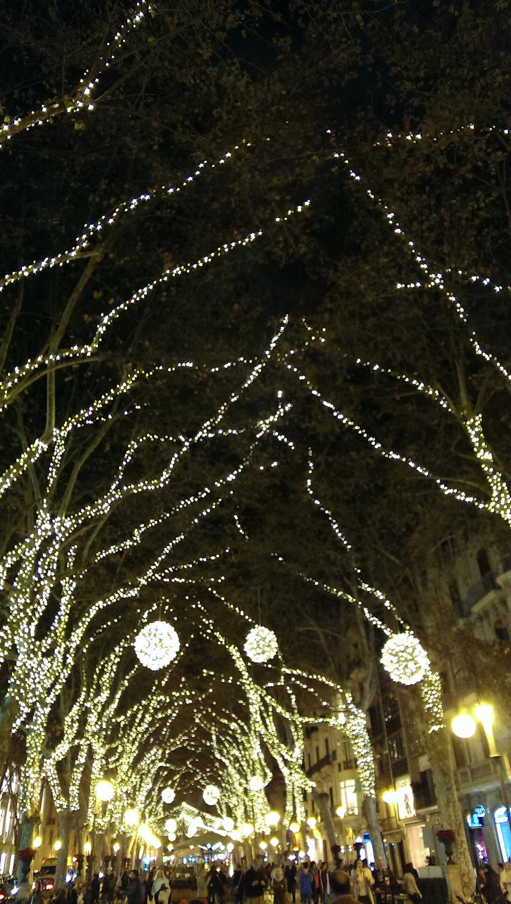 Christmas time in Palma de Mallorca