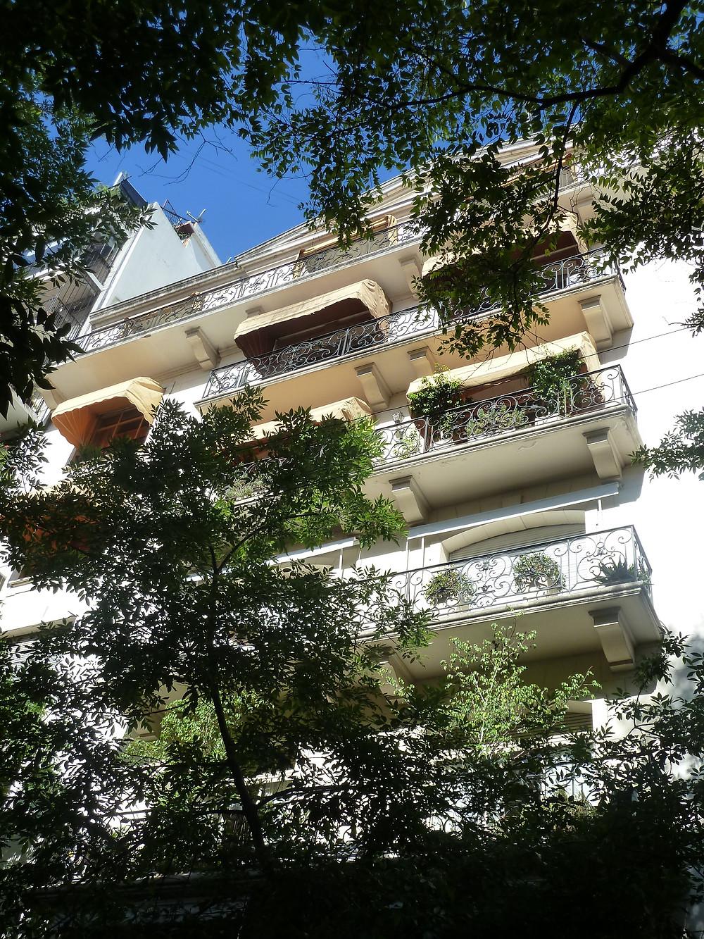 Parisian Building in Buenos Aires